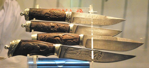 ножи от Кустарей