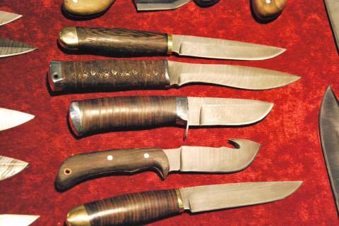 охотничьи разделочные ножи