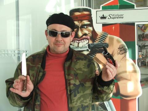 автор, пичок и кизлярский воин