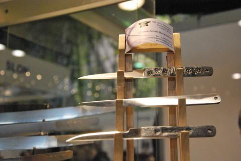 узкие кованые ножи