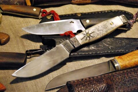 нож с неизвестным клеймом