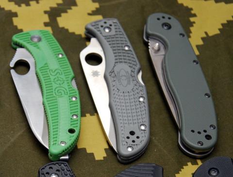 нейлоновые зеленые рукоятки