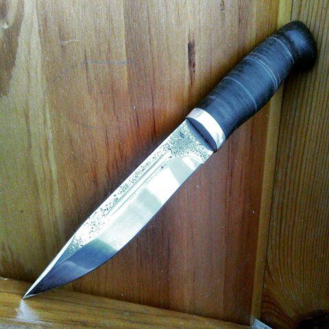 кованый нож из 95Х18