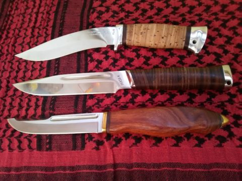 ножи резделочный, универсальный, этнический