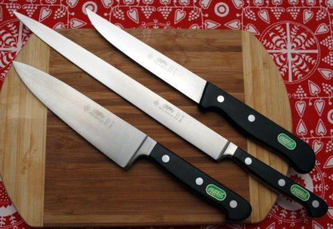 кухонные ножи Herberz