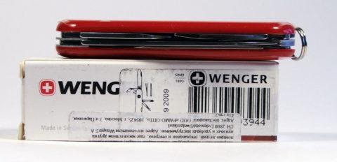 швейцарский офицерский складной нож Wenger