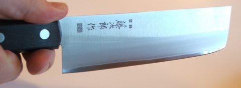 японский нож для овощей накири