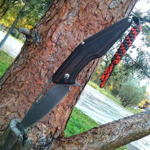 большой складной нож