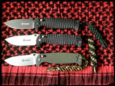 семейство ножей Ganzo G742