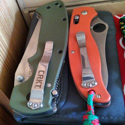два китайских ножа