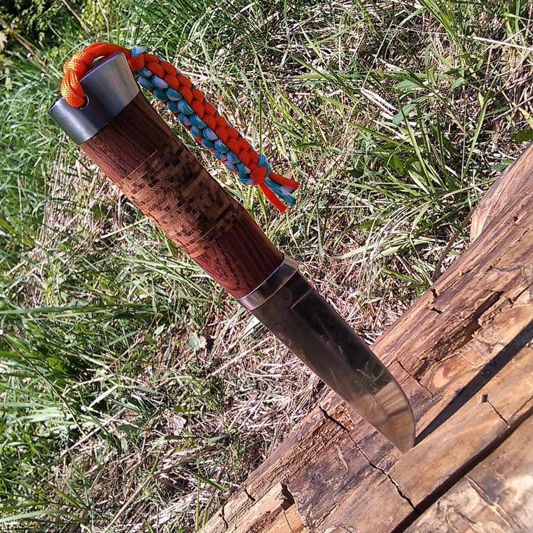 большой походный туристический нож