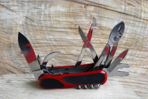 Швейцарский складной нож Wenger EvoGrip S557