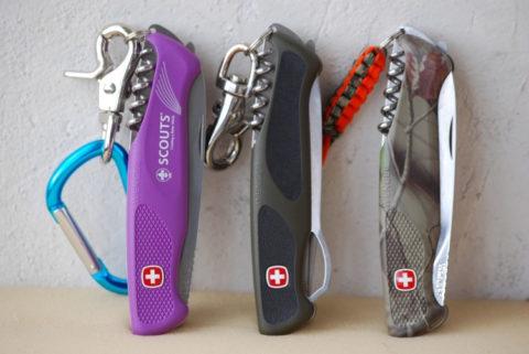 Швейцарские складные ножи Wenger 120 мм