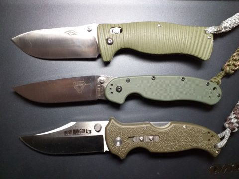 зеленые ножи