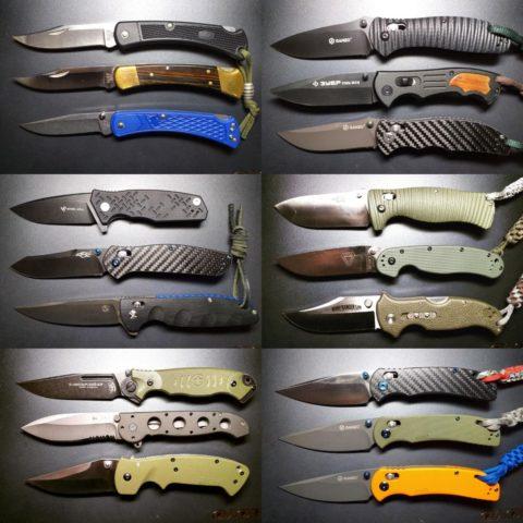 первые 18 ножей